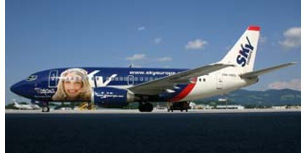 Sky Europe flog 45 Mio. Euro Verlust ein