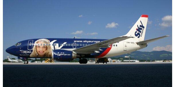 SkyEurope streicht  Budapest und Krakau