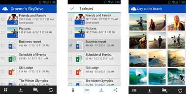 Android-App für Microsofts SkyDrive ist da