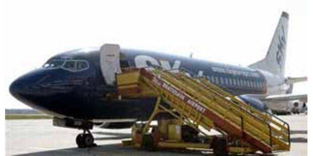 Flugzeug geriet auf falsche Landebahn