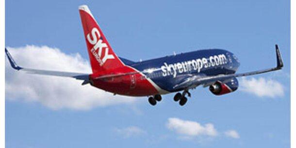 SkyEurope erhält 10-Mio-Euro-Kredit