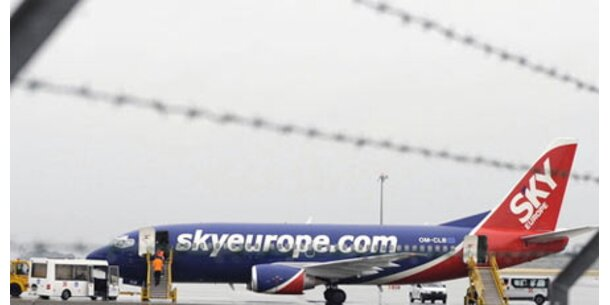 SkyEurope-Jet muss doch in Paris bleiben