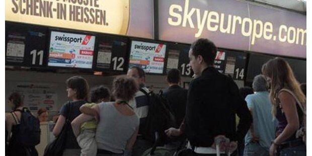 Konkurs-Absicherung für Fluglinien?