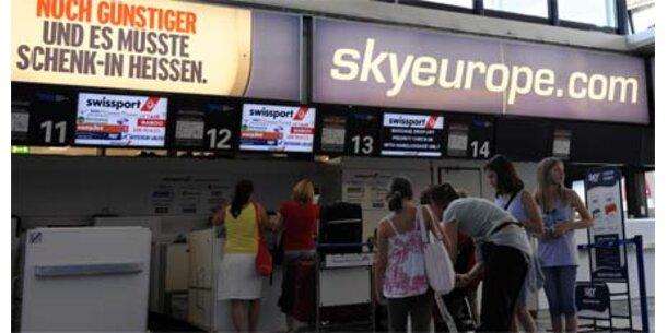 Werden SkyEurope-Schalter geschlossen?