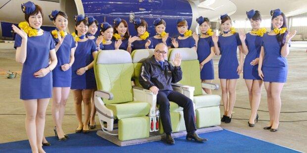 Empörung über kurze Stewardessen-Kleider