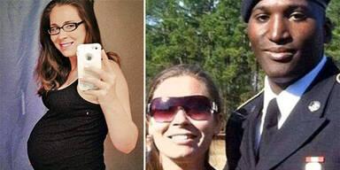 Während Skype-Anruf: Schwangere überfallen