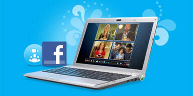 Skype 5 mit Facebook-Integration
