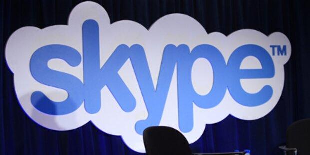 Skype wieder von Blackout getroffen