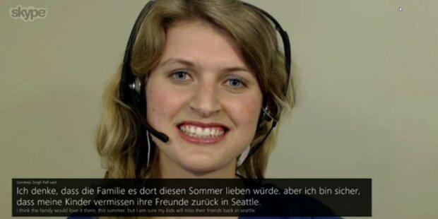 Skype übersetzt Video-Telefonate in Echtzeit