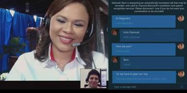Skypes Echtzeit-Übersetzer für alle