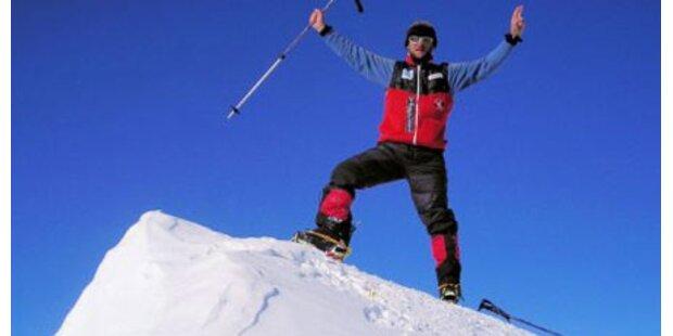 Skyrunner Stangl brach Tour ab