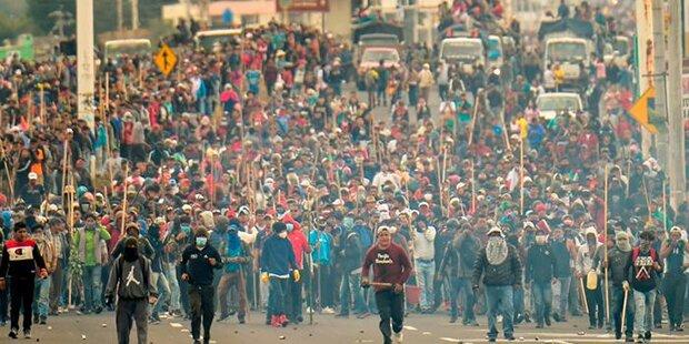 Ecuador: Regierung bestätigt Tote