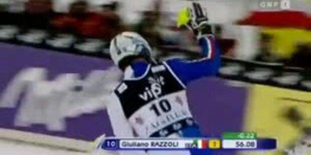 Herrenslalom in Zagreb, 1.DG, Platz 1
