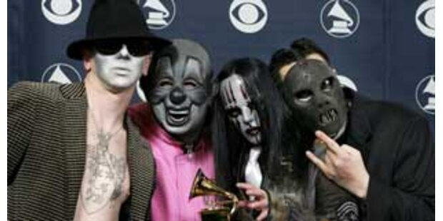 Schock-Rock hinter Masken