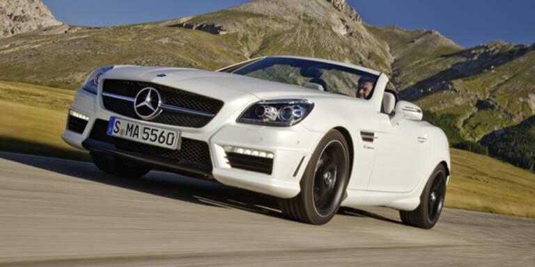 Jetzt kommt der Mercedes SLK 55 AMG