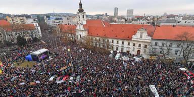 Journalistenmord: Slowakei in Aufruhr