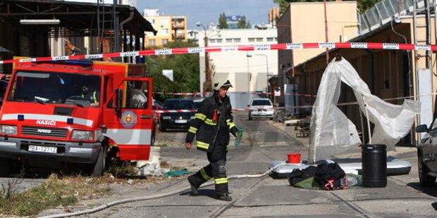 16 Verletzte bei Chemie-Unfall in Bratislava