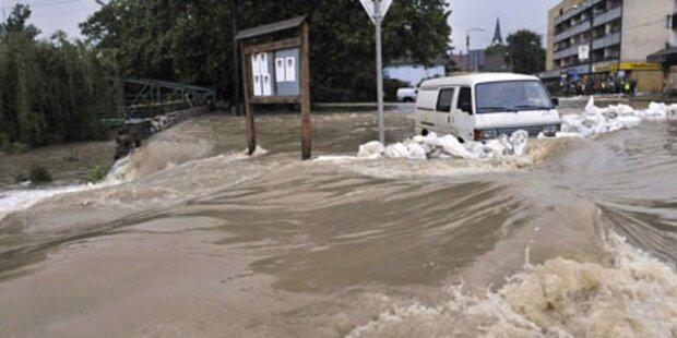Hochwasser: Slowakei ruft Notstand aus