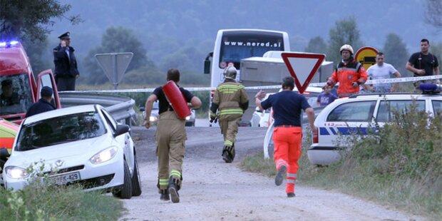 Heißluftballon-Unglück in Ljubljana: 4 Tote