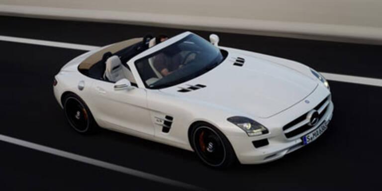 Alle Fotos und Infos vom SLS AMG Roadster