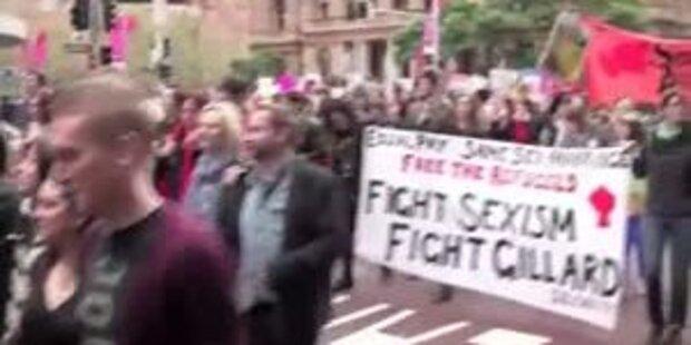 Sexprotest der US-Frauen