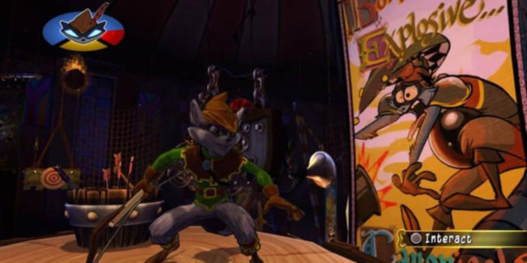 Sly Cooper: Jagd durch die Zeit für PS3 und Vita