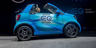 Elektro-Smart kommt als nightsky edition