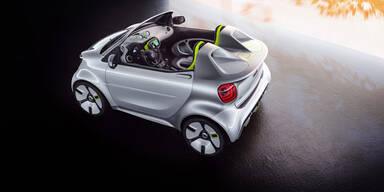 Smart zeigt coolen Elektro-Speedster