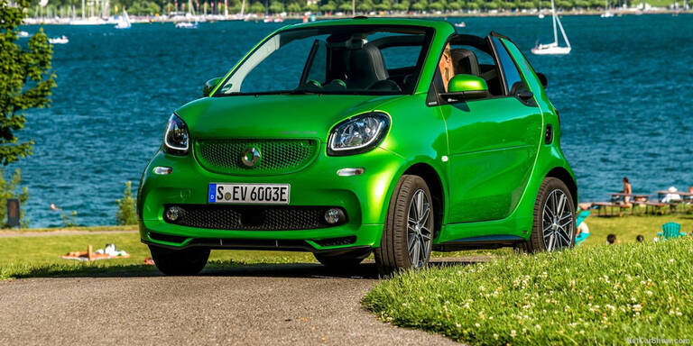 Smart fortwo Cabrio electric drive im Test