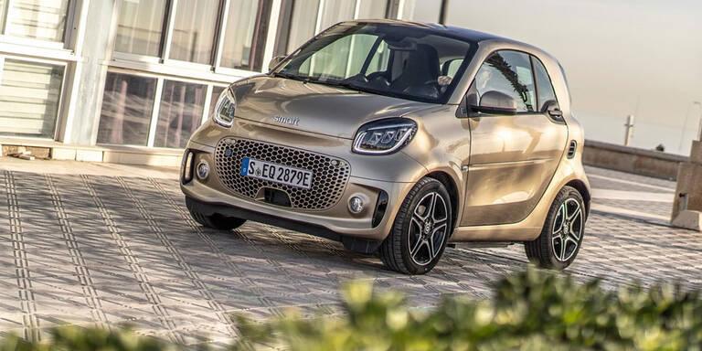"""Nur mehr elektrisch: """"Neue"""" Smart-Modelle starten"""