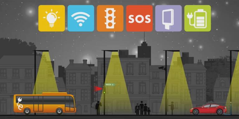 """""""Smart-Street""""-Test in drei Gemeinden"""