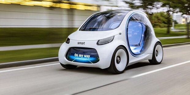 smart ab 2020 nur mehr als elektroauto studie auf der. Black Bedroom Furniture Sets. Home Design Ideas