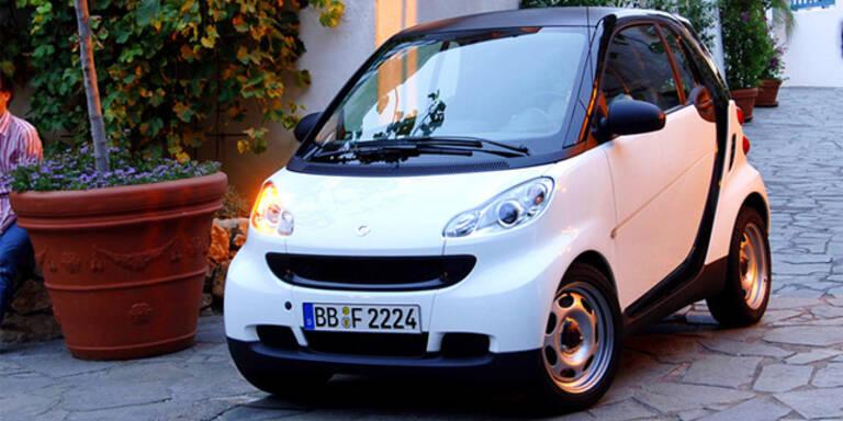Smart plant Elektro-Kleinstwagen mit 3 oder 4 Sitzen