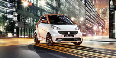 Sondermodell vom Smart Cabrio