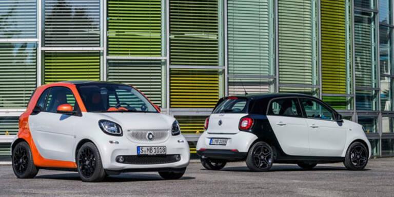Doppelkupplung für weitere Smart-Modelle