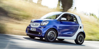 Neuer Smart fortwo & forfour in Wien