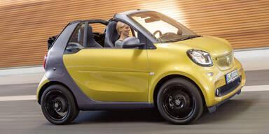 Das kostet das neue Smart Cabrio