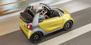 Das ist das neue Smart fortwo Cabrio