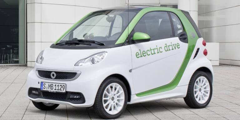 E-Smart kostet kaum mehr als Diesel-Version