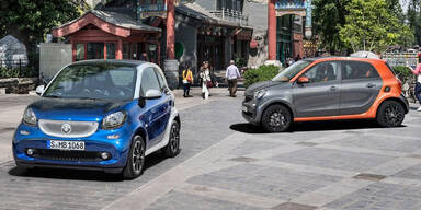 Neuer Smart fortwo & forfour im Test