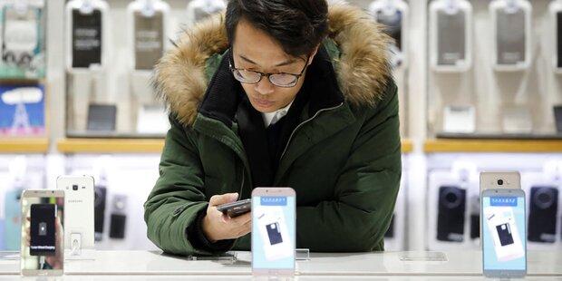 Smartphone-Markt wächst auch 2017