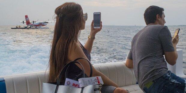Smartphone ist Hauptkamera im Urlaub