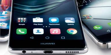 Galaxy S7 & Huawei P9 schlagen iPhone 7