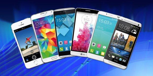 Jeden Tag ein Top-Smartphone gewinnen