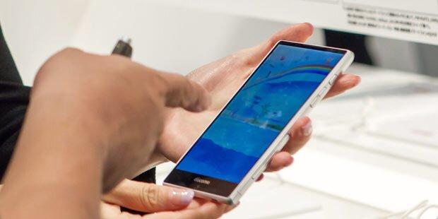 Frühe Falten durch Smartphones