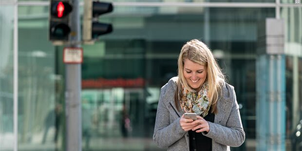 Riskante Ablenkung durch Smartphones