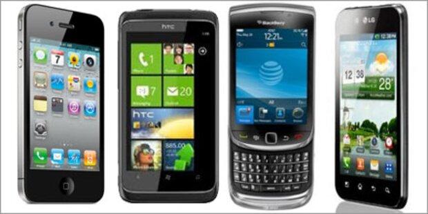 Smartphone-Systeme im Überblick