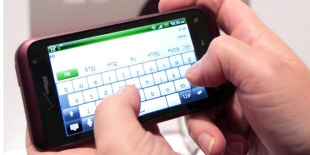 So nutzen Österreicher das Smartphone