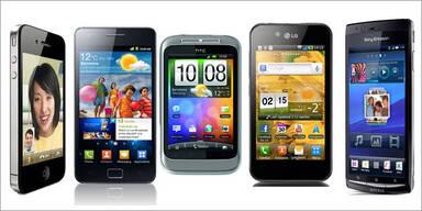 Das sind die 10 besten Smartphones