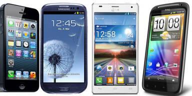 Das sind die aktuell 20 besten Smartphones